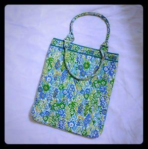 Vera Bradley green and blue tote bag